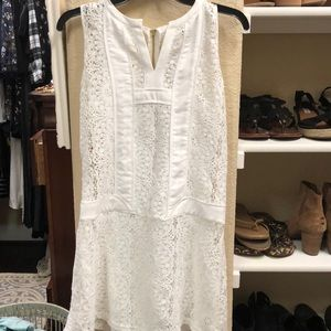 Gianni Bini Dresses - GB white lace dress